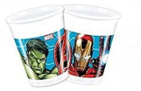 Mighty Avengers Cups, 200mls pk8