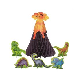 Dinosaur Volcano Centerpiece