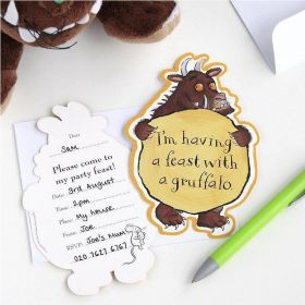 The Gruffalo Party Invitations, pk12