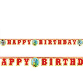 Toy Story 4 Happy Birthday Banner 2m