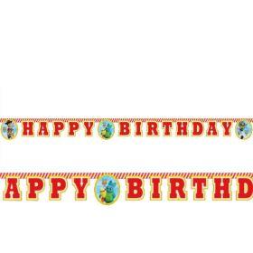 Toy Story Happy Birthday Banner 2m