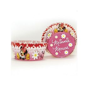 Minnie Mouse Cupcake Cases, pk 50