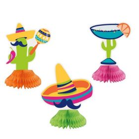 Boho Mexican Fiesta Honeycombs, pk3