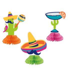 Boho Mexican Fiesta Honeycombs, pk3