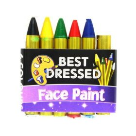 Face Paint Crayons, pk6