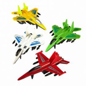 Pull Back Planes, 4 assorted design