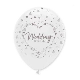 Wedding Wishes Latex Ballons