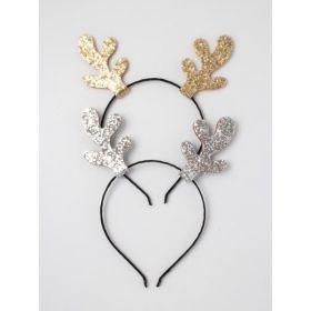 Glitter Reindeer Antlers Aliceband