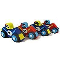 Racing Car Eraser