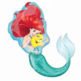 Little Mermaid SuperShape Foil Balloon 28'' x 34''