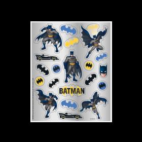 Batman Party Sticker Sheets, pk4