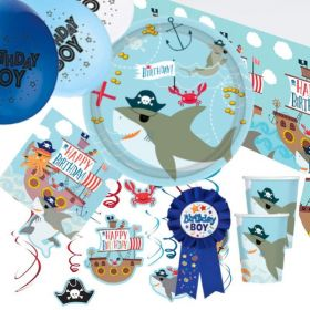 Ahoy Birthday Ultimate Party Pack for 8