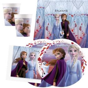 Disney Frozen 2 Party Tableware Pack for 16