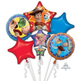 Toy Story 4 Foil Balloon Bouquet, pk5