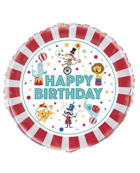 "Circus Carnival Foil Balloon 18"""