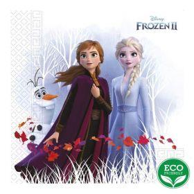 Frozen 2 Destiny Awaits Party Napkins 33cm x 33cm, pk20