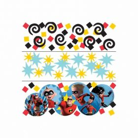 The Incredibles 2 Confetti 3 Packs 34g