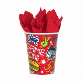 Epic Party Paper Cups 266ml - pk8