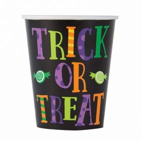 Silly Halloween Monsters Paper Cups 270, pk8