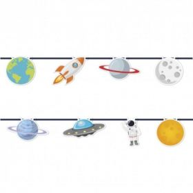 Space Astronaut Party Jointed Banner 2.3m