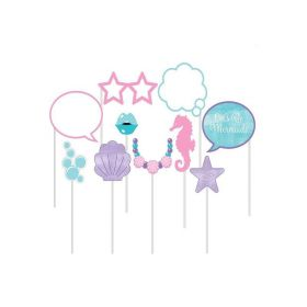 Mermaid Shine Photo Props, pk10