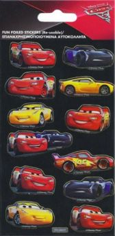 Cars 3 Foil Stickers