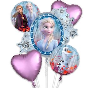 Disney Frozen 2 Foil Balloon Bouquet, pk5