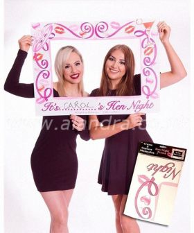 Hen Party Giant Photo Frame 80cm x 60cm