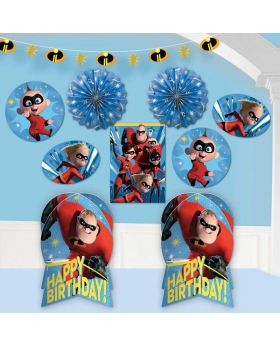 The Incredibles 2 Room Decoration Kit, pk10