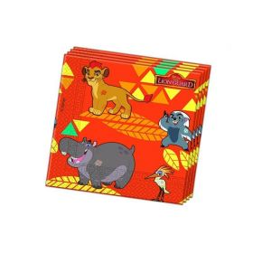 Lion Guard Party Napkins, pk20