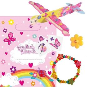 Girls Pre Filled Party Bags