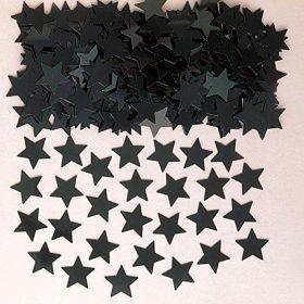 Black Stardust (Metallic) Confetti, 14g