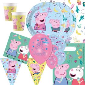 Peppa Pig Party Deluxe Party Pack for 16