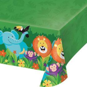 Jungle Safari Party Tablecover 1.37m x 2.59m