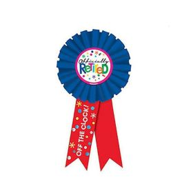 Retirement Award Ribbon 15cm