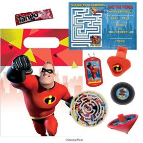 The Incredibles 2 Pre Filled Party Bags (no.1), One Supplied