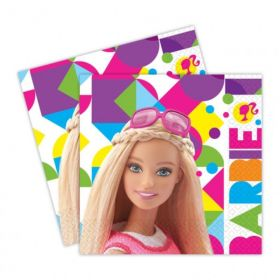 Barbie Sparkle Luncheon Napkins pk20