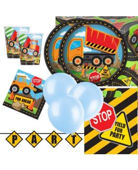 Construction Deluxe Party Pack for 16
