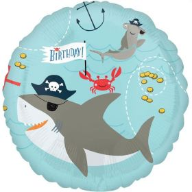 Ahoy Birthday Foil Balloon 18""