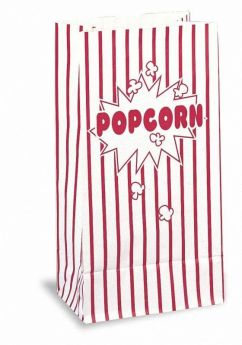 Popcorn Paper Party Bags, pk10