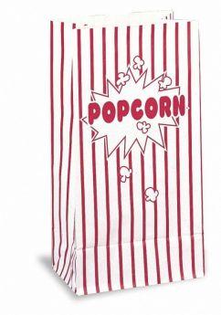 Popcorn Paper Party Bags, pk10