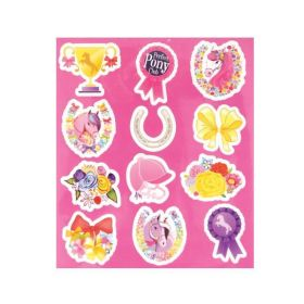 Ponies Stickers Sheet