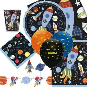 Outer Space Party Ultimate Party Pack for 8