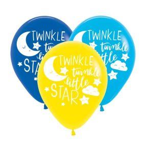 "Twinkle Little Star Latex Balloons 11"", pk6"