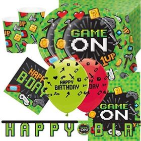 Gaming Deluxe Party Pack for 16