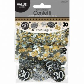 Gold Sparkling Celebration 30th Confetti 34g