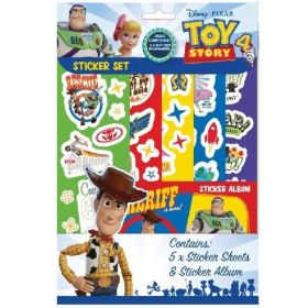 Toy Story 4 Sticker Fun