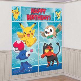 Pokémon Wall Party Decoration Kit