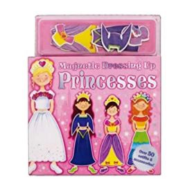 Girls Princesses Magnetic Dress Up Book