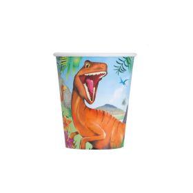 8 Dinosaur 9oz Cups